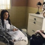Pictured: Janel Parrish and Ashley Benson. Image by Eric McCandless. © ABC Family