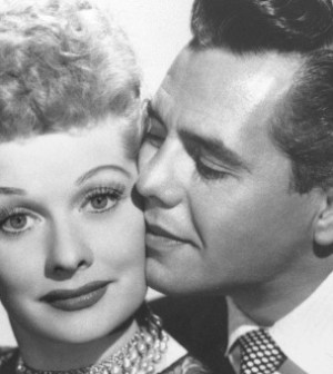 Lucille Ball and Desi Arnaz on I Love Lucy (Image © CBS)