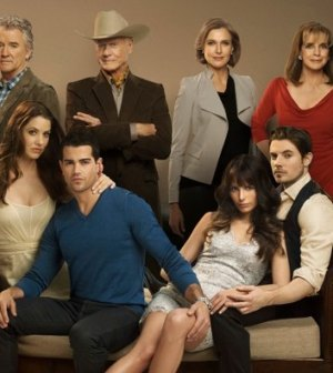 The cast of Dallas. Photo by Mark Seliger. Image © TNT.