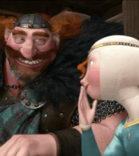 King Fergus and Princess Merida in BRAVE (Image © 2012 Disney/Pixar)