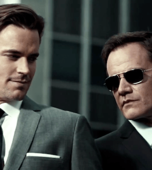 Matt Bomer and Tim DeKay in WHITE COLLAR (Image © USA Network)