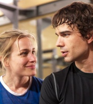 Piper Perabo as Annie Walker, Christopher Gorham as Auggie Anderson -- (Photo by: Christos Kalohoridis/USA Network)