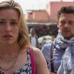 Piper Perabo and Richard Coyle in Covert Affairs. (Photo by: Didier Baverel/USA Network)