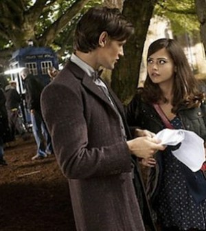 Matt Smith and Jenna Louise Coleman in Doctor Who (Photo © BBC)