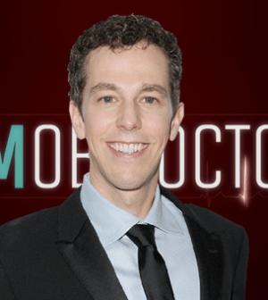 Pictured: The Mob Doctor creator Josh Berman