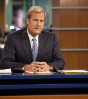 Jeff Daniels as Will McAvoy in The Newsroom. Photo: © HBO. All Rights Reserved