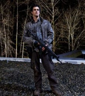Drew Roy as Hal Mason in Falling Skies. Photo by James Dittiger. Image © TNT