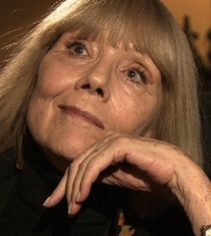 Dame Diana Rigg (Photo © BBC)