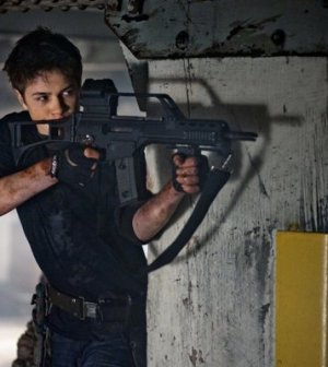 Connor Jessup as Ben Mason in Falling Skies. Image by James Dittiger/TNT