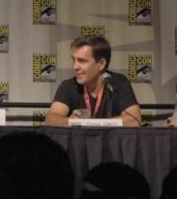 (l-r) Emily Rose, Nolan North and Claudia Black at Comic-Con 2009