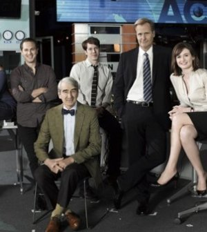 The Newsroom cast. Image © HBO