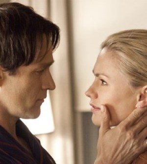 Stephen Moyer and Anna Paquin in True Blood. Image © HBO