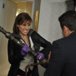 """WAREHOUSE 13 -- """"Fractures"""" -- Episode 406 --Pictured: Allison Scagliotti as Claudia Donovan -- Photo By: Steve Wilkie/SyFy"""