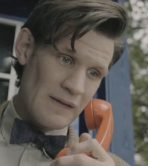 Matt Smith as the Doctor in DOCTOR WHO 'Pond Life' (Image © BBC)