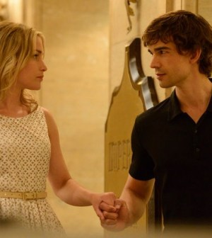 Piper Perabo as Annie Walker, Christopher Gorham as Auggie Anderson -- (Photo by: Steve Wilkie/USA Network)