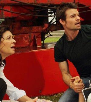 Wendy Crewson as Dana Kinney, Daniel Gillies as Joel Goran. Photo by: Stephen Scott/NBC