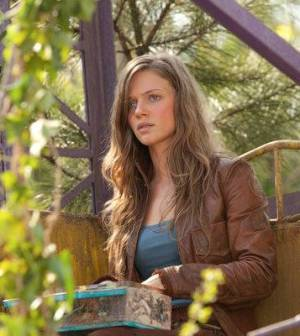 Tracy Spiridakos as Charlie Matheson in NBC's Revolution. Image © NBC.
