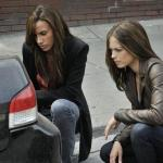 "Beauty And The Beast — ""All In"" — Pictured (L-R): Nina Lisandrello as Tess and Kristin Kreuk as Catherine — Photo: Sven Frenzel/© 2012 The CW Network, LLC. All rights reserved."