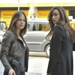 "Beauty And The Beast — ""All In"" — Pictured (L-R): Kristin Kreuk as Catherine and Nina Lisandrello as Tess — Photo: Sven Frenzel/© 2012 The CW Network, LLC. All rights reserved."