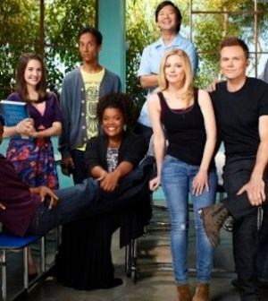 The cast of NBC's COMMUNITY (Photo by: Mitchell Haaseth/ © NBC)