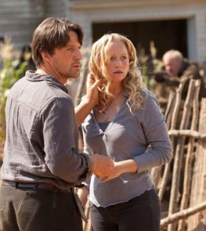 Tim Guinee as Ben, Anna Lise Phillips as Maggie -- (Photo by: Bob Mahoney/NBC)