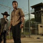 Carl Grimes (Chandler Riggs) and Rick Grimes (Andrew Lincoln) - Photo Credit: Frank Ockenfels/AMC