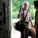 Hershel Greene (Scott Wilson) and Rick Grimes (Andrew Lincoln) - The Walking Dead - Season 3, Episode 1 - Photo Credit: Gene Page/AMC