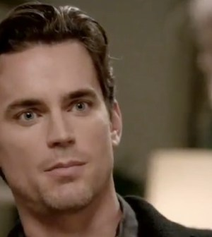 Neal Caffrey (Matt Bomer) has questions after WHITE COLLAR''s summer finale ... and so do we. (Image © USA)