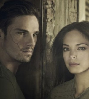 Jay Ryan and Kristin Kreuk in the CW's Beauty and the Beast. Image © CW