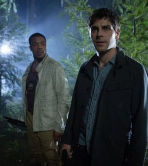 Russell Hornsby (l) and David Giuntoli (r) in Grimm. Image © NBC.