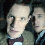Matt Smith and Arthur Darvill in Doctor Who. Image © BBC.