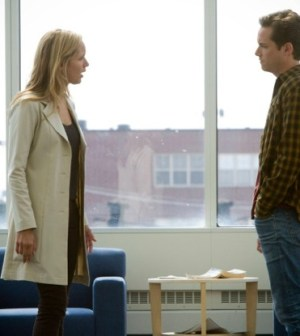 Jordana Spiro and Jesse Lee Soffer in The Mob Doctor. ©2012 Fox Broadcasting Co.