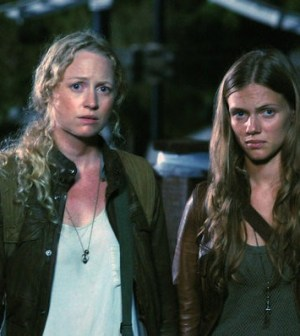 Anna Lise Phillips and Tracy Spiridakos. Image by Brownie Harris/NBC