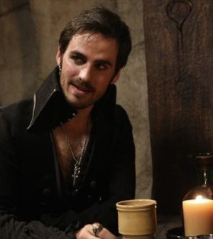 Colin O'Donoghue as Hook. Image © ABC Television Network