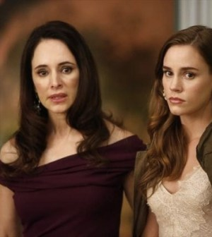 (l-r) Madeleine Stowe and Christa B Allen. Image © ABC Television Network.