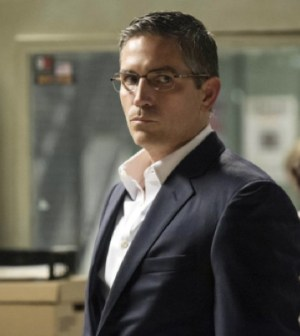 Jim Caviezel as John Reese. Image © CBS Television Network