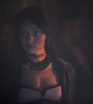 Kat Graham as Bonnie–Photo: Annette Brown/ The CW–©2012 The CW Network. All Rights Reserved.