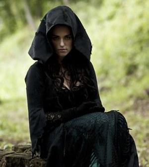 Katie McGrath as Morgana. Image © BBC