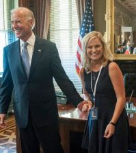 Vice President Joe Biden, Amy Poehler as Leslie Knope -- (Photo by: David Giesbrecht/NBC)