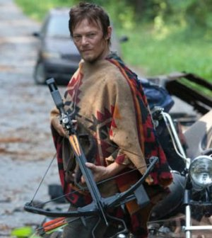Norman Reedus as Daryl Dixon in The Walking Dead. Image © AMC