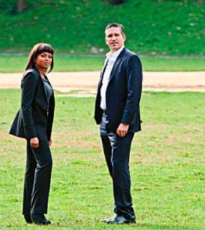 Taraji P. Henson and Jim Caviezel in Person of Interest. Image © CBS