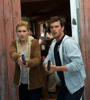 Emily rose and Lucas Bryant in Haven. Image © Syfy