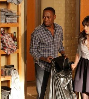 Lamorne Morris and Zooey Deschanel in New Girl. Image © FOX