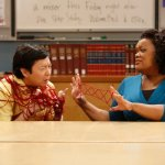 Ken Jeong as Chang, Yvette Nicole Brown as Shirley -- (Photo by: Jordin Althaus/NBC)