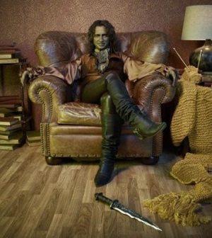 Robert Carlyle as Rumpelstiltskin. Image © ABC