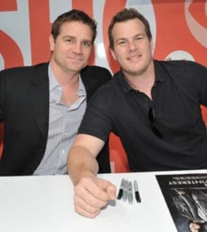 Greg Plageman and Jonathan Nolan