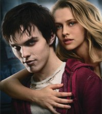Nicholas Hoult and Teresa Palmer in Warm Bodies.