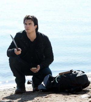 Ian Somerhalder as Damon. Image © The CW Network