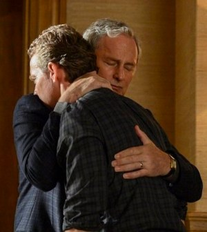 Victor Garber as Robert Bowers, Tate Donovan as Edward Bowers -- (Photo by: David Giesbrecht/NBC)