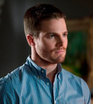 Stephen Amell as Oliver Queen/Arrow. Image © The CW Network